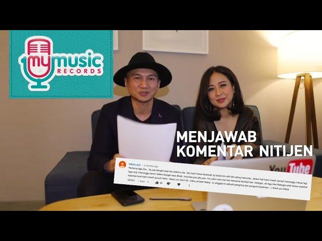 Lucu!! Reaction for comment MV Hari Bahagia - Astrid & Anji