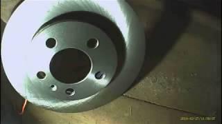 (Авто Ремонт) Замена передних тормозных дисков на Polo седан