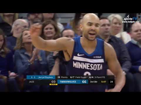 Utah Jazz vs Minnesota Timberwolves NBA 2018-19 Highlights 1080P (2019-1-27)