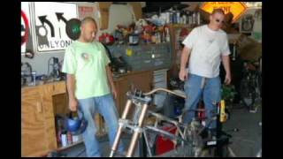 Building A Motorcycle Frame