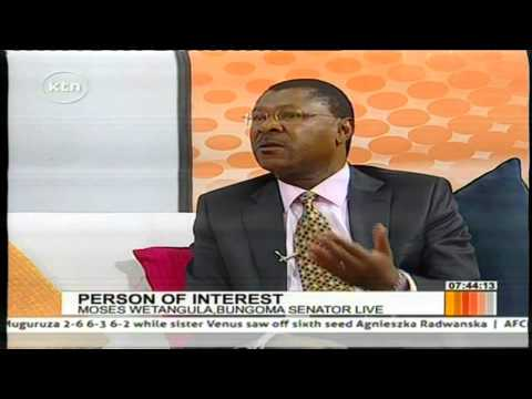 Senator Moses Wetangula strives to offer alternative leadership in the country