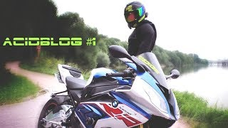 ACIDBLOG #1 Новый мотоцикл и запредельные скорости