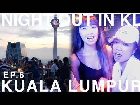 NIGHT OUT IN KL! 🇲🇾 [Ep.6] Kuala Lumpur Nightlife | Heli Rooftop Bar, Changkat Street, Zouk Club