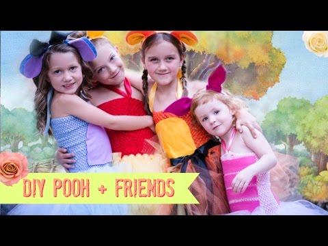 DIY Pooh - Piglet - Eeyore - Tigger Costume NO SEW Tutu - WINNIE THE POOH - Full download  sc 1 st  Godialy & DIY Pooh - Piglet - Eeyore - Tigger Costume NO SEW Tutu - WINNIE THE ...