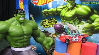 Hulk Smash Spin-Out Hot Wheels Track Set Review By Race Grooves