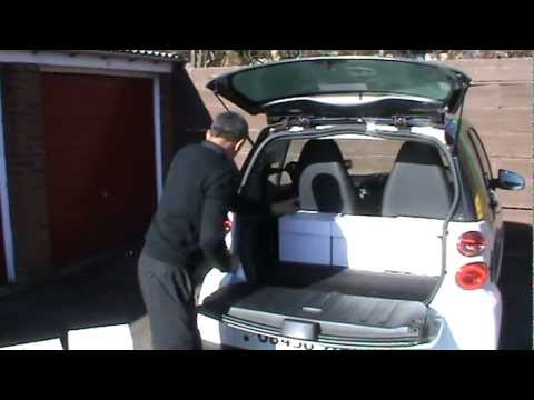 eco link couriers you can fit so much in our smart cars youtube. Black Bedroom Furniture Sets. Home Design Ideas