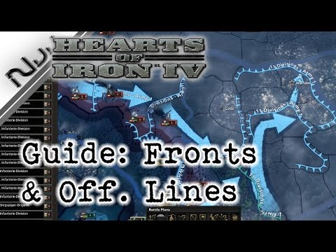 Hearts of Iron 4 Guide: How to Effectively Draw Fronts and Offensive Lines