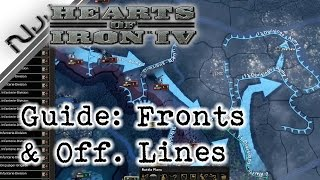 Hearts of Iron 4 Guide How to Effectively Draw Fronts and Offensive Lines