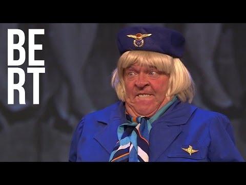 Bert Visscher - Zelden Zoiets Gezien - Mollige Stewardess