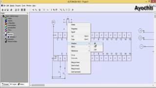 Automgen TP7 - Grafcet Démarrage direct d'un moteur triphasé # 29 (بالعربية)