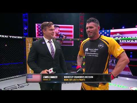 Chris Camozzi Picks Up Second Consecutive Win in PFL Action   Post Fight Interview