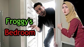 BREAKING into FROGGY's BEDROOM
