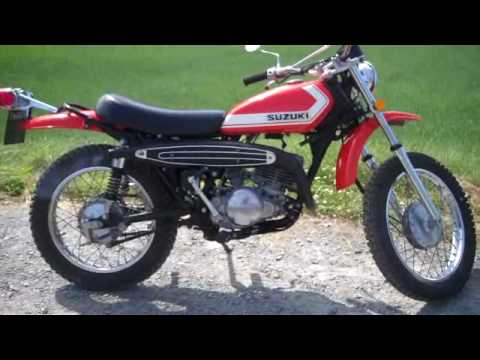 suzuki ts 250 j 1972model unrestored youtube. Black Bedroom Furniture Sets. Home Design Ideas