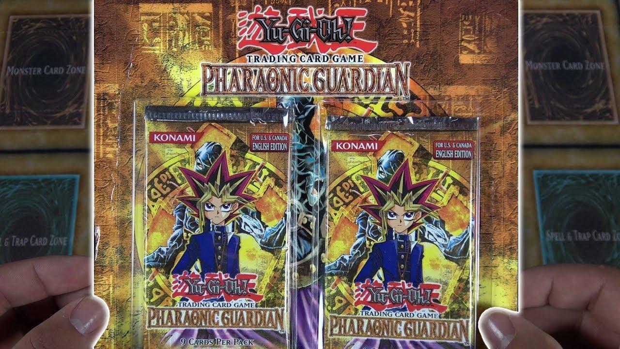 Yu-Gi-Oh 1st edition Pharaonic Guardian 1 packs