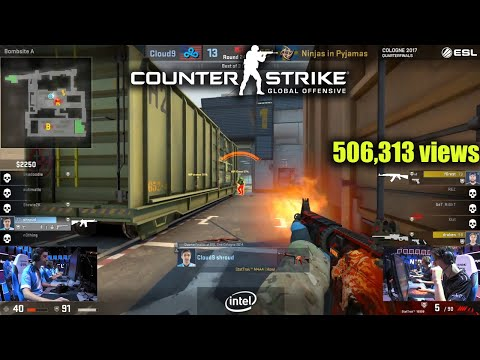 Top 30 Most Viewed ESL PRO LEAGUE CS:GO Tournament Twitch Clips Of All Time