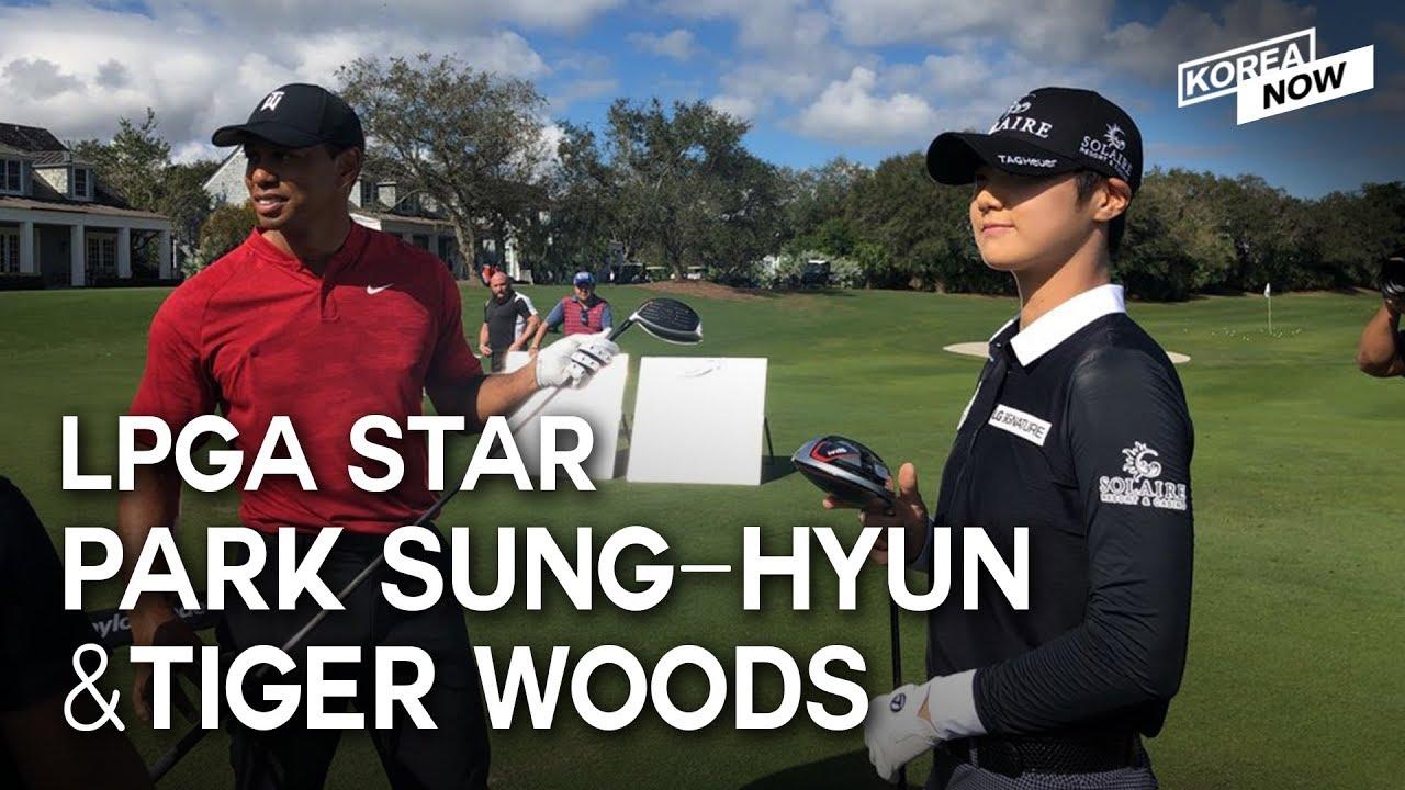 [NEWS] S. Korean LPGA star meets Tiger Woods, Samsung : 'Best Brands France', US troops in S. Korea