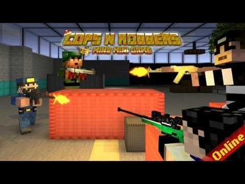 Cops N Robbers (FPS) MineCraft Style GamePlay from YouTube · Duration:  4 minutes 14 seconds
