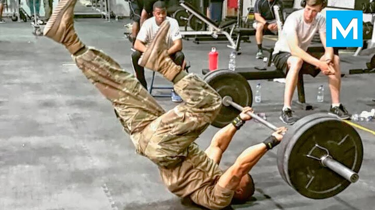 Fittest Soldier in the World - Diamond Ott   Muscle Madness