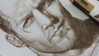 Drawing Jason Statham (Actor)
