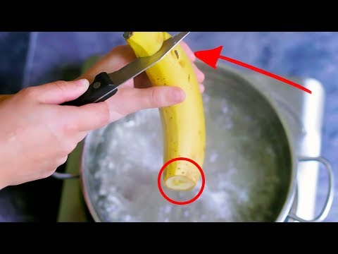 If You Boil Bananas Before Bed And Drink The Liquid, THIS Happens While You Sleep...
