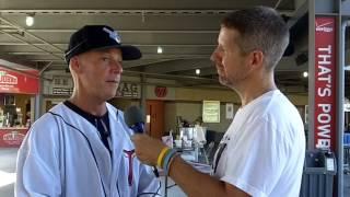 David Mickey Evans At CommunityAmerica Ballpark