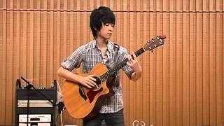 2011- 8/ 20三好ギタ--教室サマーコンサートで♪サバンナ(押尾コータロ...