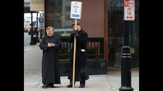 Ashes on the Go for Ash Wednesday in downtown Springfield