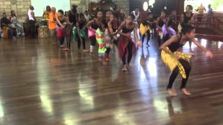Afia Walking Tree Teaches Dance at Edna Manley Sch For Performing Arts