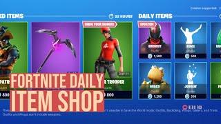 Fortnite Daily Item Shop 10/16/2019