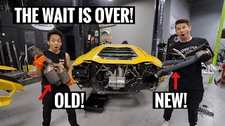 I STRAIGHT PIPED MY LAMBORGHINI AVENTADOR! AND ITS INSANE!!!