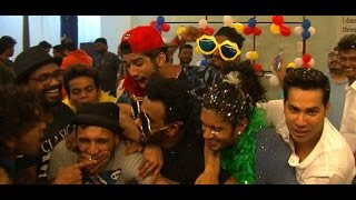 Watch varun dhavan at happy birthday song celebration party. subscribe: http://www./thecinecurry like us on facebook: https://www.facebook.com/cin...