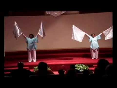 Heart of God Praise Dancers with Flags: