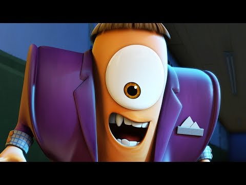 Funny Animated Cartoon | Spookiz Weekend Party Cula Gets Suited And Booted 스푸키즈 Videos For Kids