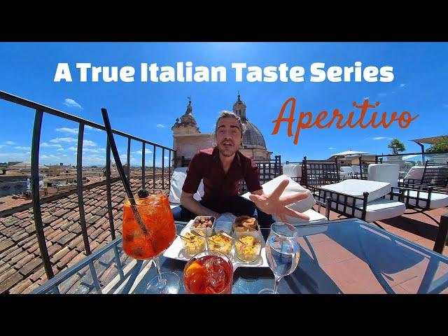 Roman Aromas - A True Italian Taste Series: Aperitivo