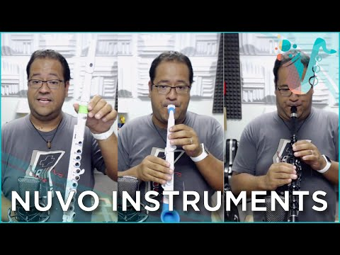 "Clarinéo, jSax, and Student Flute Review (From ""Nuvo Instruments"")"