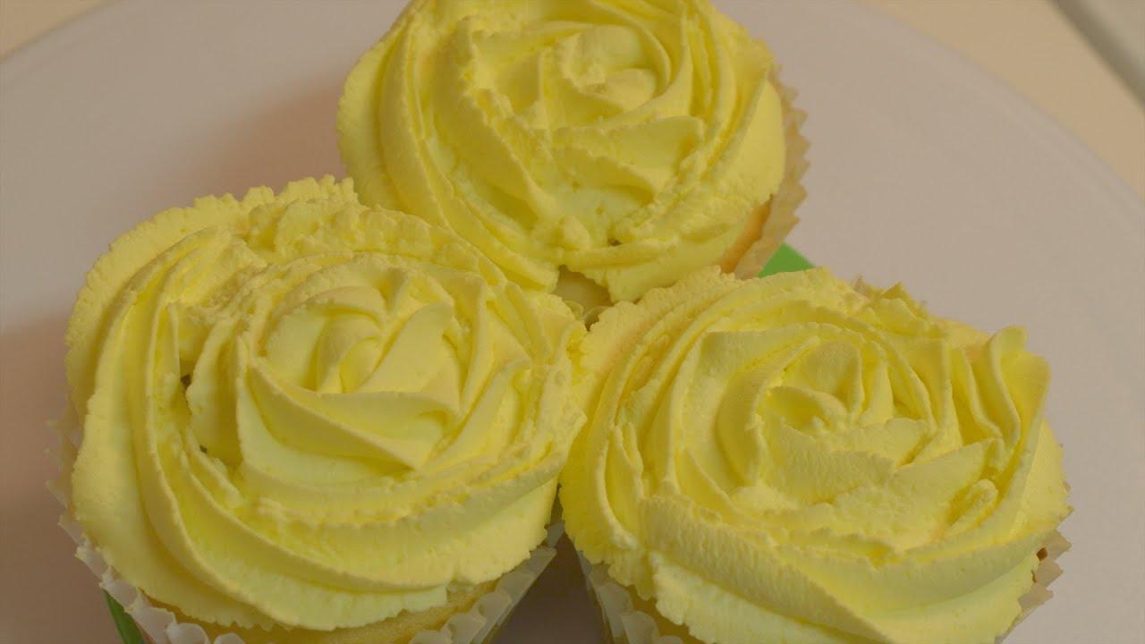 Lemon Cupcake & Lemon whipped cream frosting-Megha Govindaraj - Megha ...