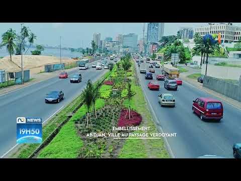 Embellissement : Abidjan, ville au paysage verdoyant