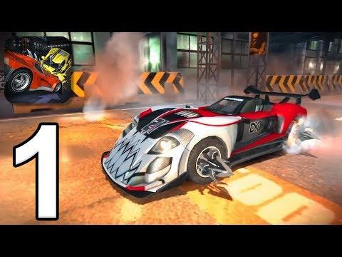 Carmageddon: Crashers - Gameplay Walkthrough Part 1 (iOS, Android)