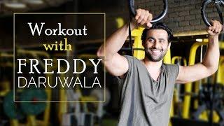 Freddy Daruwala Workout Video | Bollywood Celebrity Workout