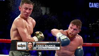 Yahoo Sports' Chris Mannix on the Controversial Alvarez/GGG Judge | The Dan Patrick Show | 9/18/17