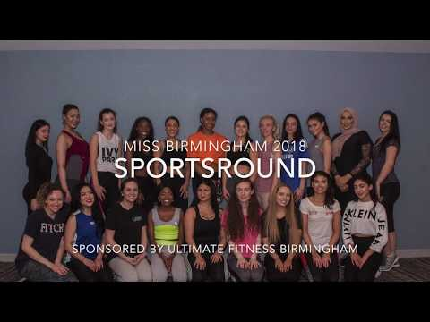 Miss Birmingham 2018 Sports Round - Sponsored By Ultimate Fitness Birmingham