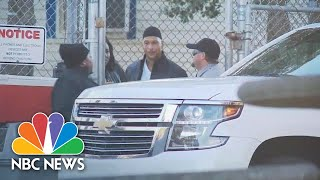 Former Football Player Rae Carruth Released From North Carolina Prison | NBC News