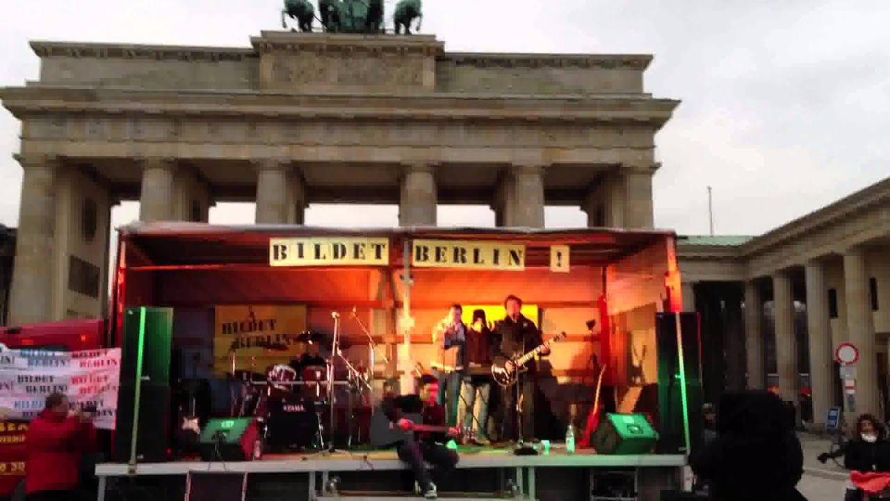 Brandenburger Tor Live