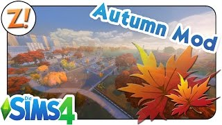 Sims 4 - Tutorial: Herbst Mod || Autumn Mod || Where to get and how to