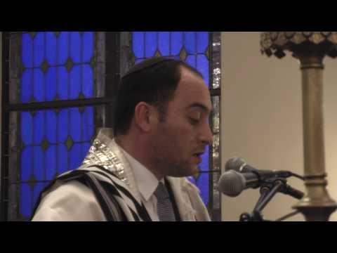 Cantor Netanel Hershtik  Davening Mincha  Part 1 (Watch in HD)