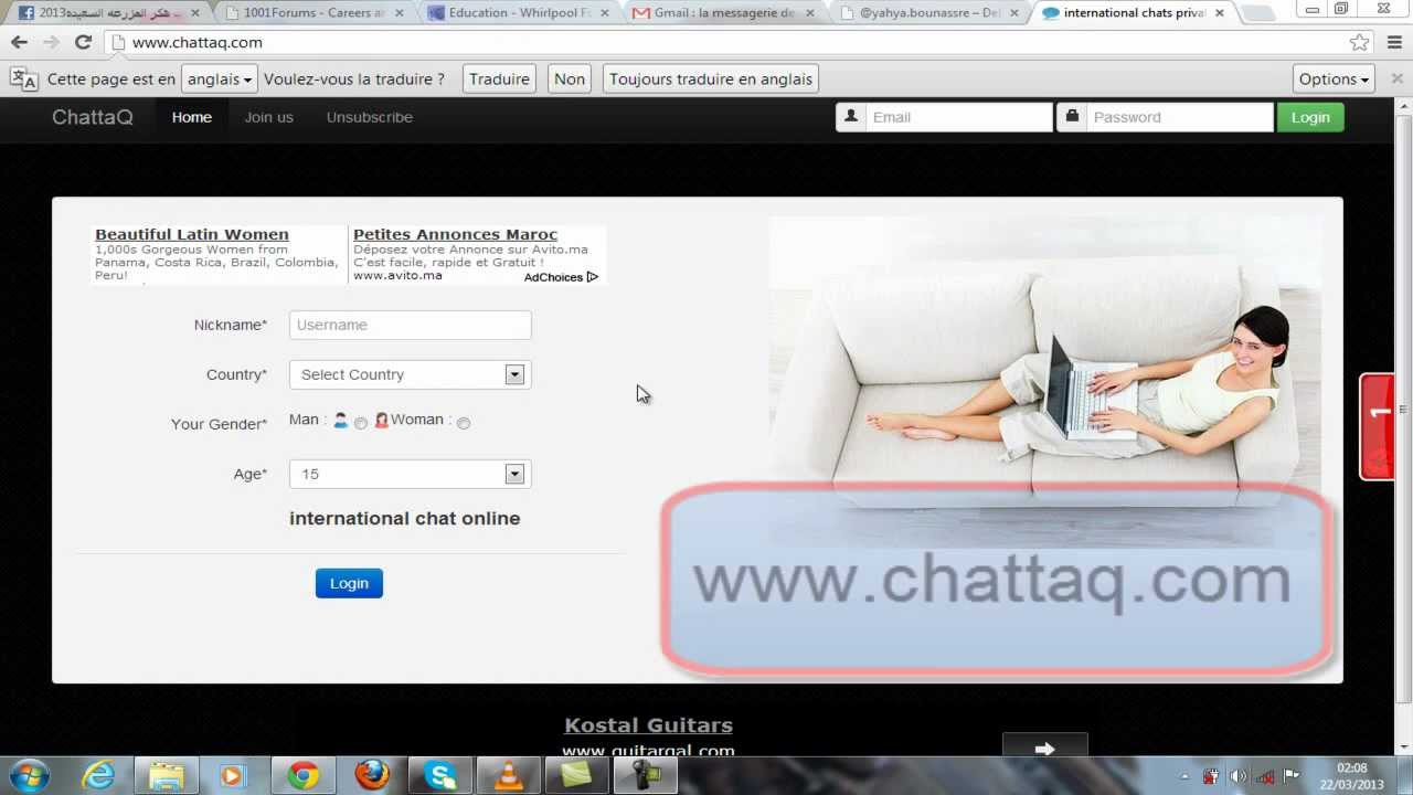 free international chat rooms
