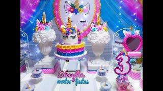 Cumpleaños unicornio niña