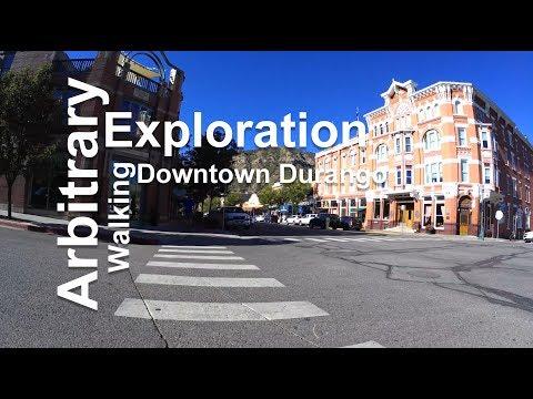 Walking Downtown Durango, Colorado (2018)