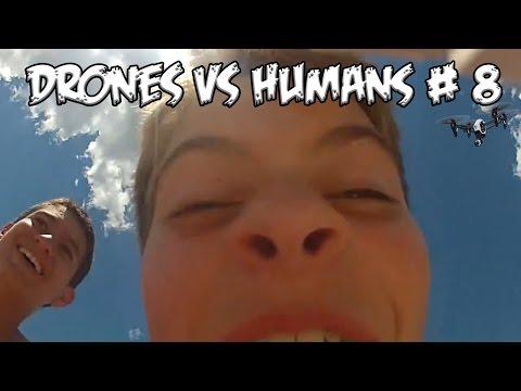 Top 5 Drones vs Humans # 8