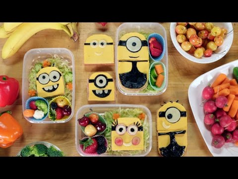 How to Make a Despicable Me Minions Bento Box With Feast of Fiction | Get the Dish thumbnail